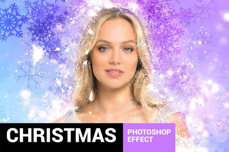 Celebratum - Christmas Photoshop Action