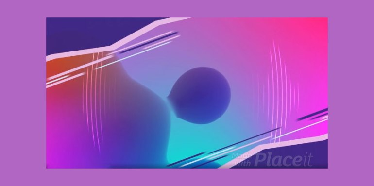 Abstract Youtube Ad Video Maker