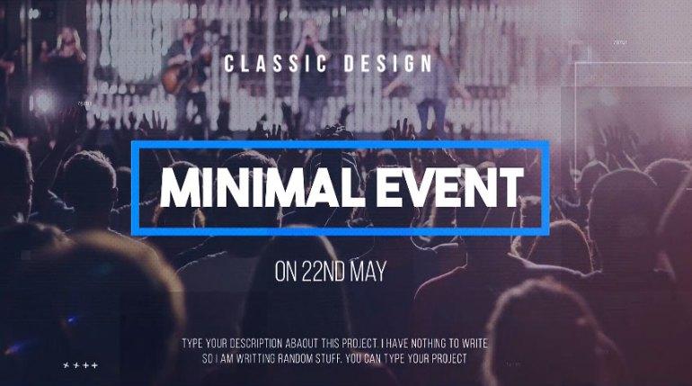 Minimal Event