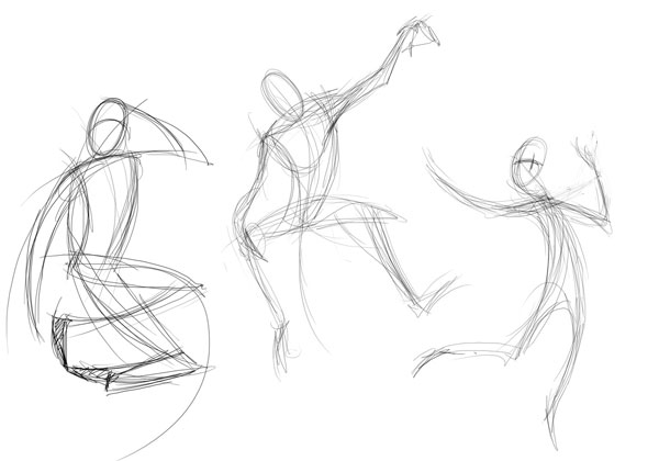 Quick Tip: Create Dynamic Poses Using Gesture Drawing