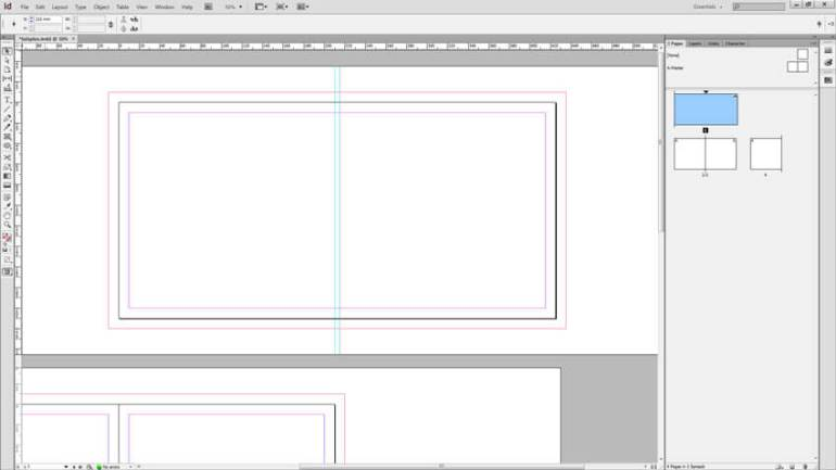 InDesign Spine Guide Setup - Guide 2