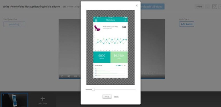 Crop your image for your app promo