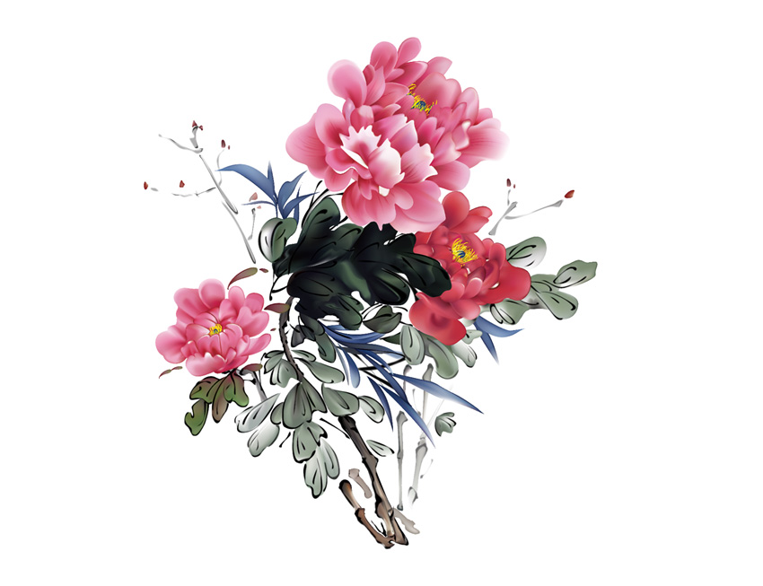 Traditional Chinese Flowers