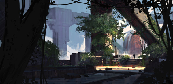 New Course Creating Compelling Environments for Concept Art