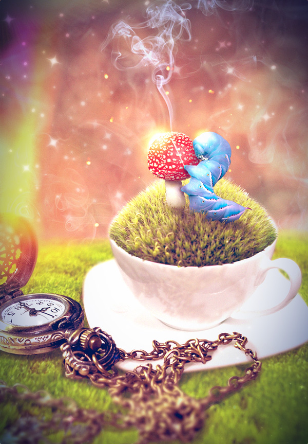 3d Motion Wallpaper Create An Alice In Wonderland Themed Iphone Wallpaper In