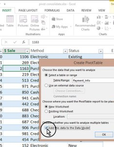 Add data to the model also advanced pivottables combining from multiple sheets rh computers tutsplus