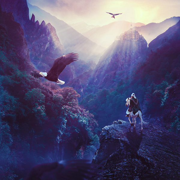 Create A Fantasy Landscape Matte Painting In Adobe Photoshop