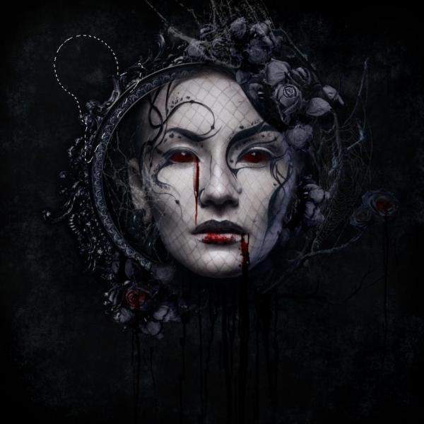 Create Dark Gothic Portrait Manipulation