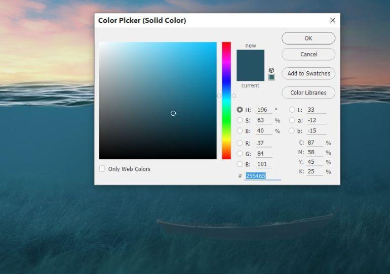 boat color fill