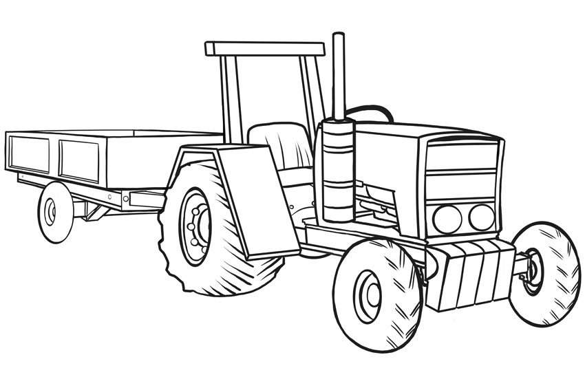 How to Draw Vehicles: Tractors