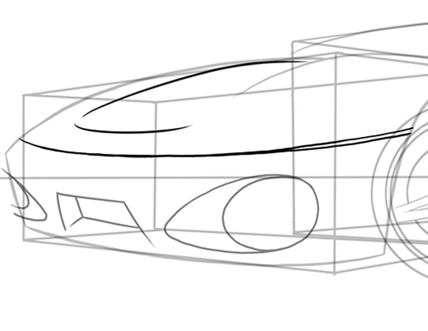 How to Draw a Car From Scratch