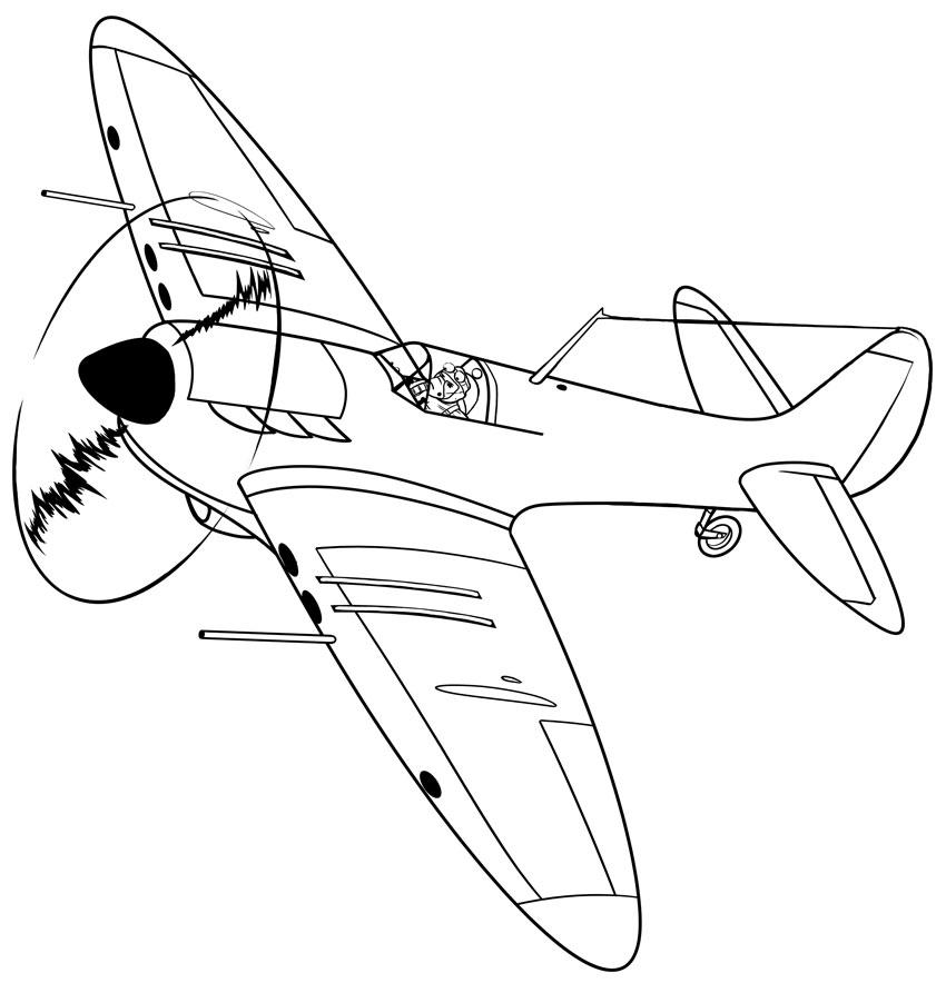 How to Draw Transport: Drawing a Historic Plane From Scratch