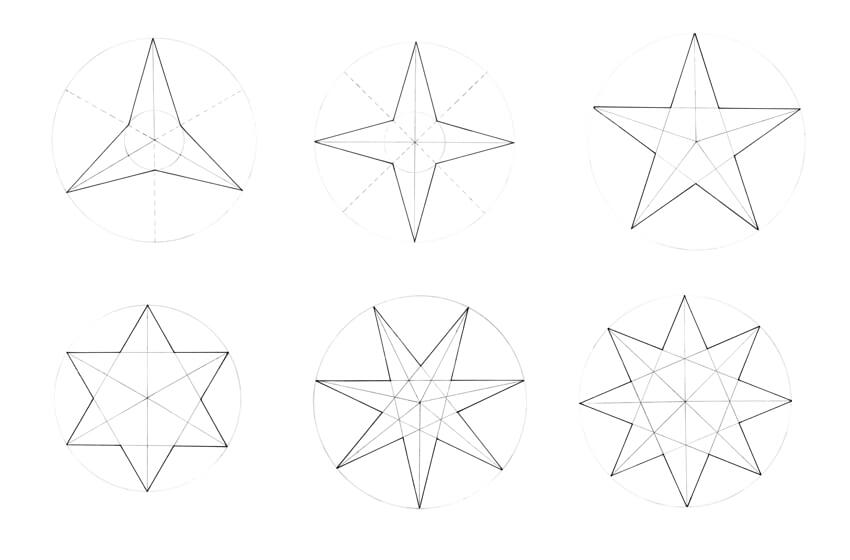 How to Draw a Star (Multiple Points!)