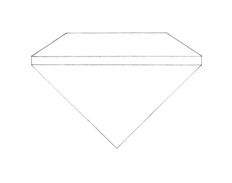 Completing the contours of the diamond