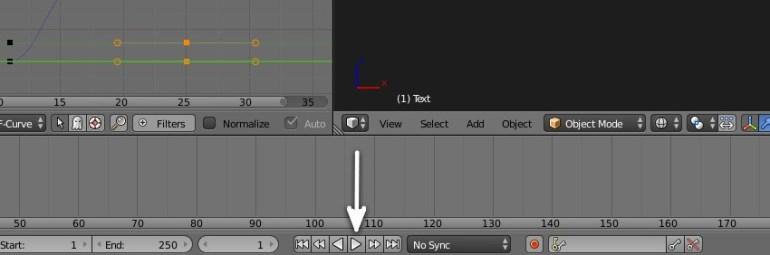 Animation controls