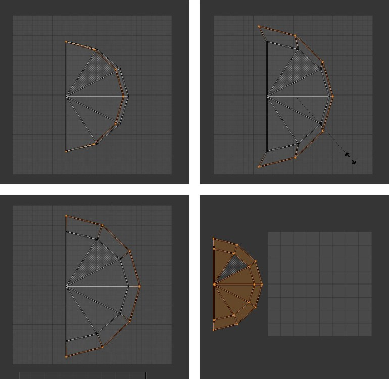 Tweaking the vertices