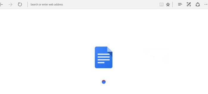 Jika anda lihat ini, Google Drive sedang mengubah PDF atau gambar anda kepada satu dokumen