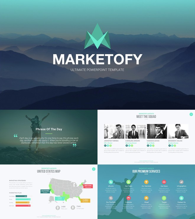 Marketofy - Ultimate PowerPoint Template - www.office.com/setup