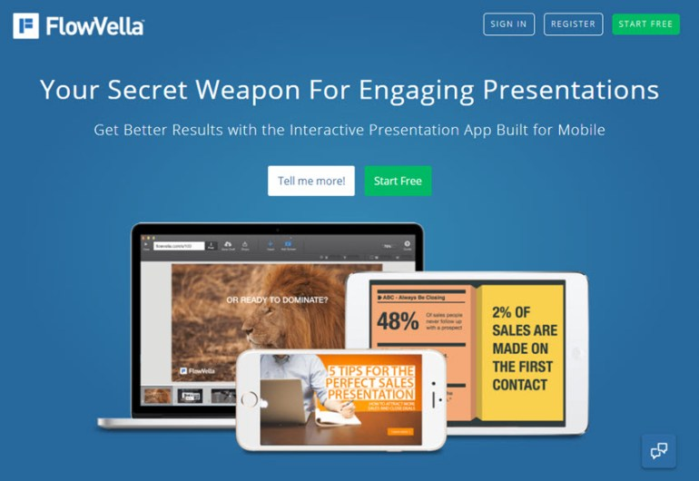 FlowVella presentation software