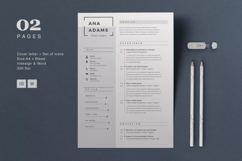 Resume Anna - Clean Resume