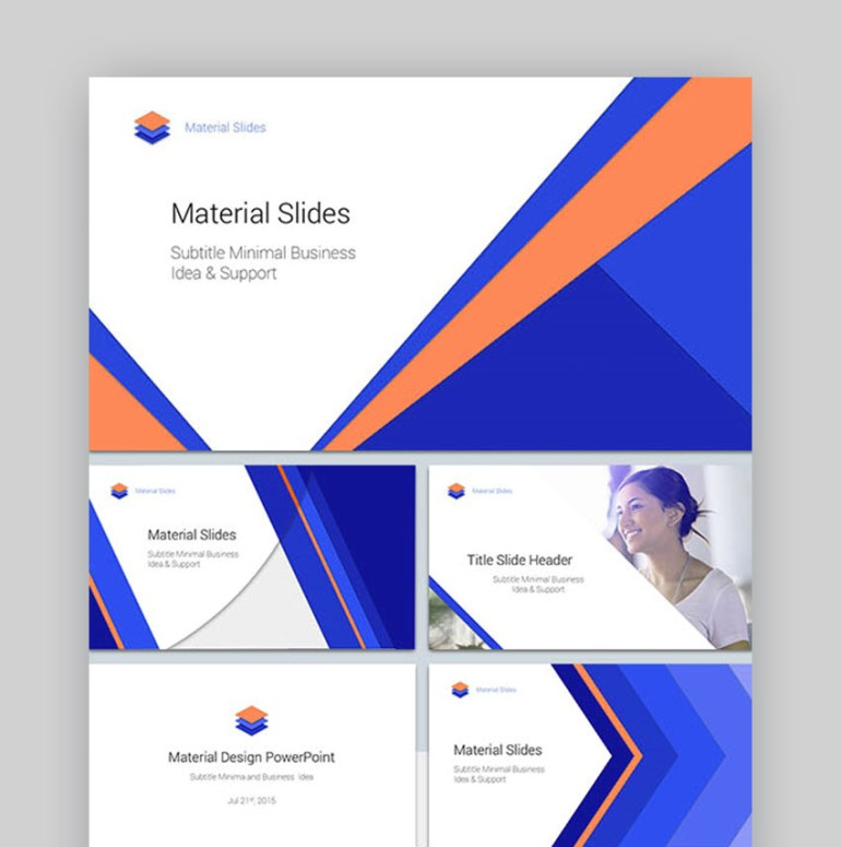 Material Presentation Template
