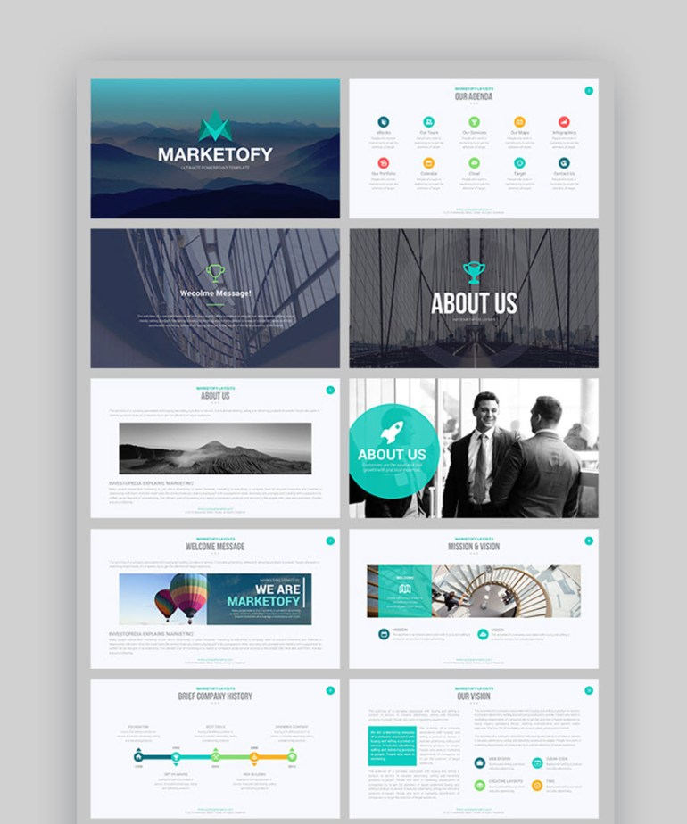Marketyofy Ultimate PowerPoint Template