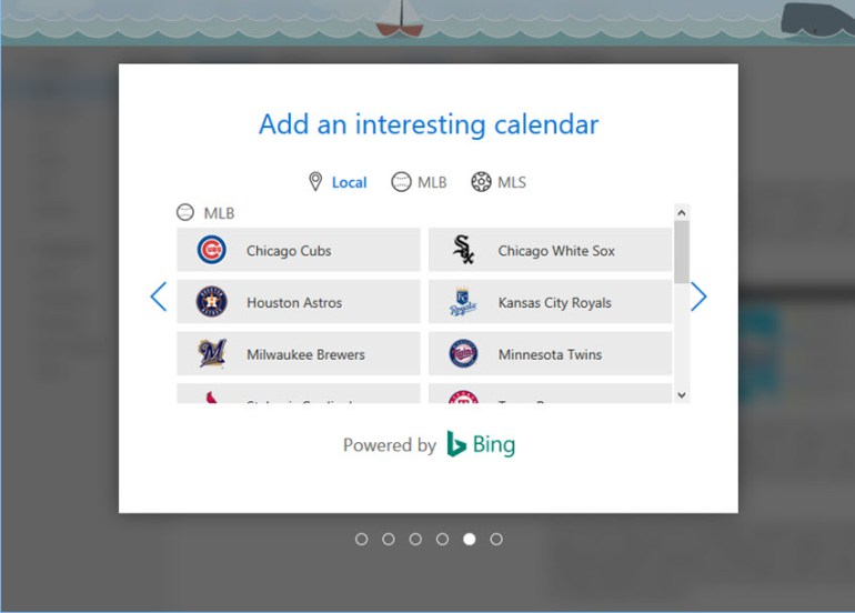 new outlook email calendar