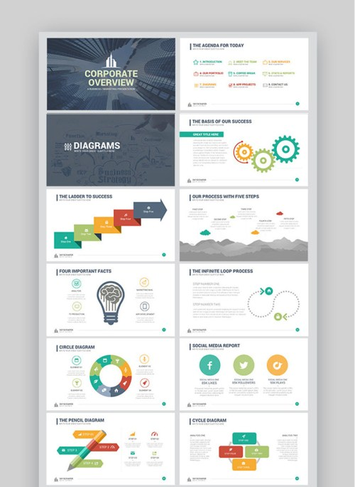 small resolution of corporate overview powerpoint template