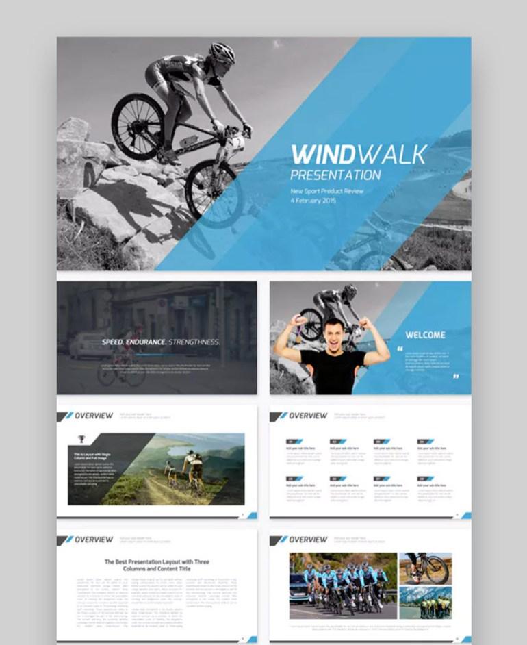 Windwalk Sports Presentation Template