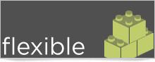 Yola's website builder is Flexible