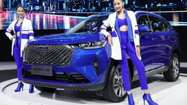 Chinese car Haval H6 2021 launched in Thailand, competing with Honda CR-V haval-h6-hybrid-1-e1616668209698.jpeg