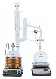 Bench Scale short path fractional distillation for Cannabis