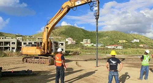 DIP Foundations For Koi Hotel St. Kitts