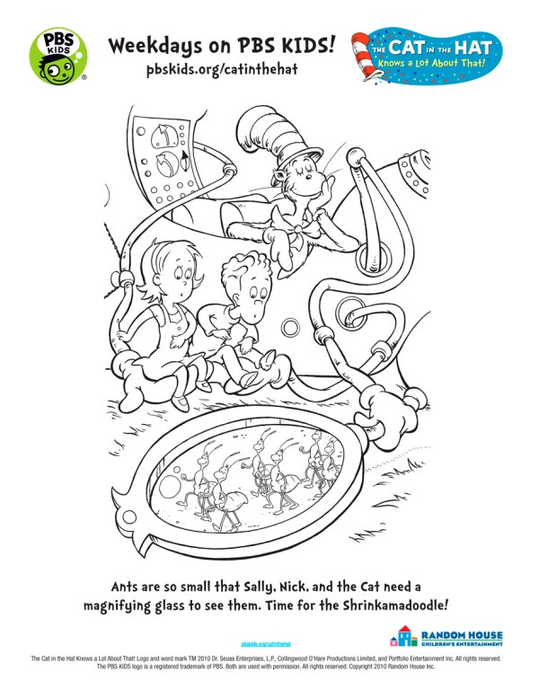 the cat in the hat coloring pages # 24