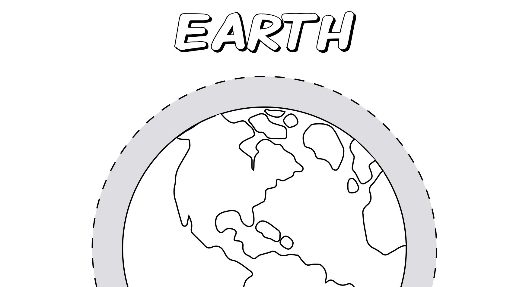 Planet Earth Coloring Page Kids Coloring Pbs Kids For Parents