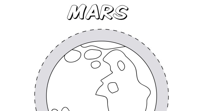 Planet Mars Coloring Page  Kids Coloring Pages  PBS KIDS for Parents
