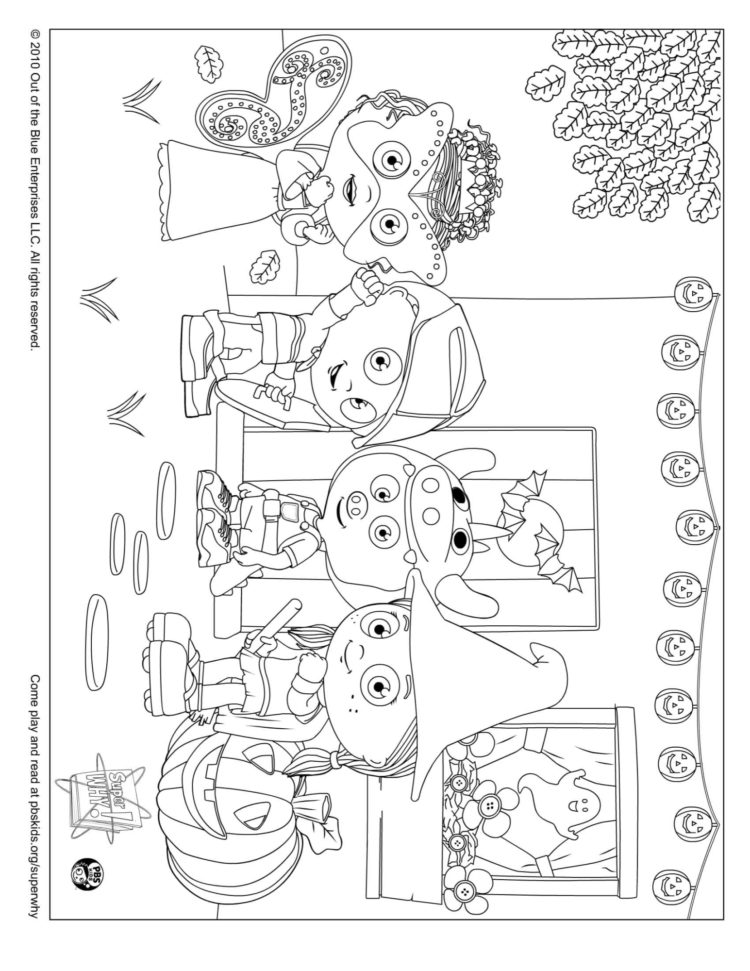 Happy Halloween Coloring Page Kids Coloring Pbs Kids For Parents