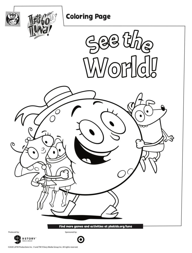 PBS Kids Coloring Pages - neighborhoodarchive.com