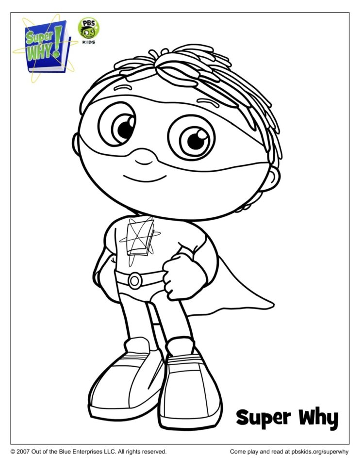 Pbs Kids Coloring Pages : coloring, pages, Super, Costume, Coloring, Kids…, Parents