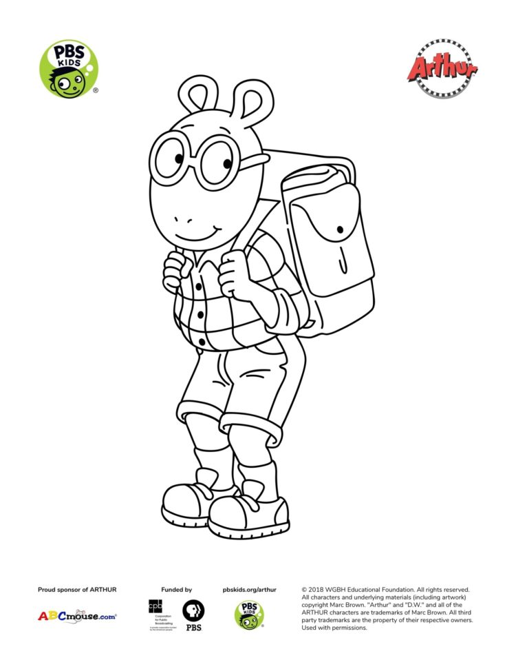 Pbs Kids Coloring Pages : coloring, pages, Arthur, Coloring, Pages, Parents