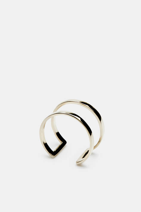 Gabriela Artigas — Cage Ring 10 K Yellow Gold — THE LINE