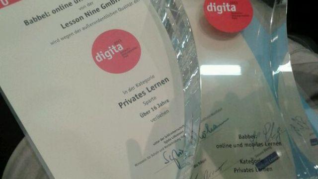 Ausgezeichnet: Wir gewinnen Deutschen Bildungsmedien Preis