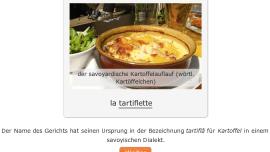 Goûter aux langues à travers la cuisine française