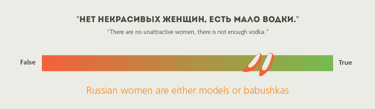 russian stereotypes - women