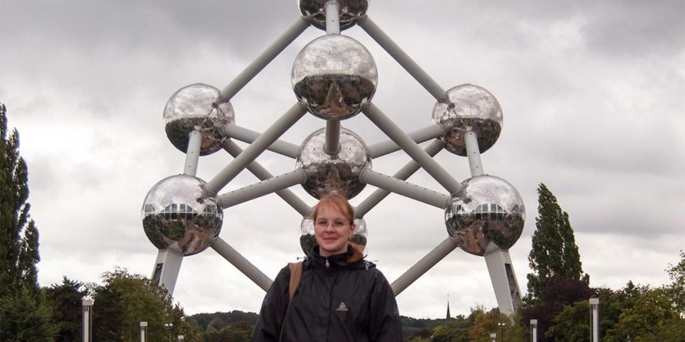 Porträt: Daniela in Brüssel