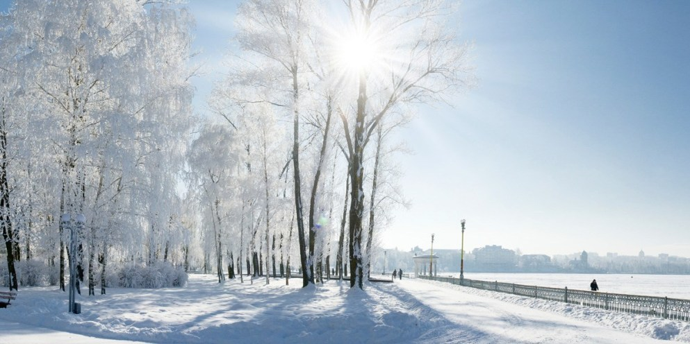 Winter traditions in Sweden and Russia