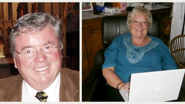 Retratos de usuários: Michèle e André, aposentados muito ocupados