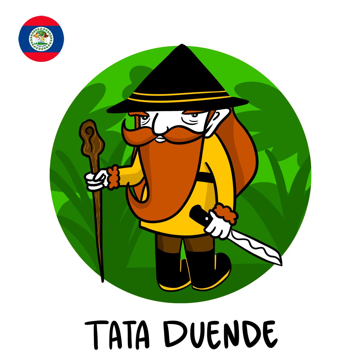 Direction Bélize avec Tata Duende !