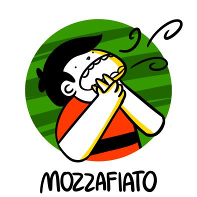 Illustration of mozzafiato, breathtaking