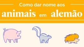 Nomes estranhos e divertidos de animais em alemão
